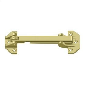 "6 3/4"" Door Guard - Polished Brass"