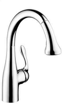 Chrome Allegro E Gourmet 2-Spray Prep Kitchen Faucet, Pull-Down, 1.75 GPM
