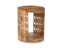 Brinley Round End Table 18x18x21""