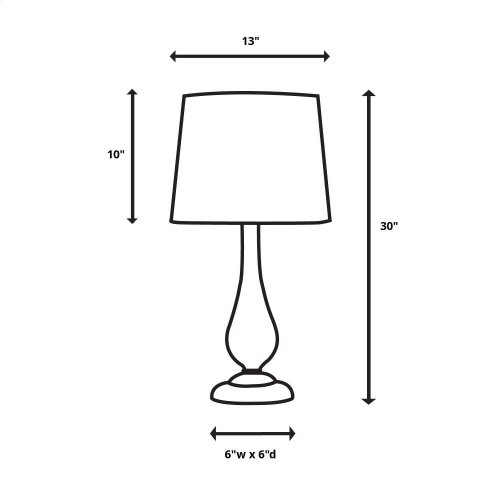 Cloverly Table Lamp, 2 Per Box