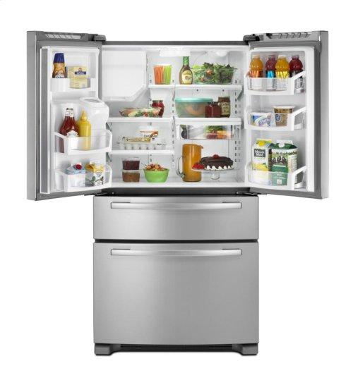 Gold® ENERGY STAR® qualified 25 cu. ft. 4-Door French Door Refrigerator *FLOOR MODEL*