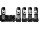 Expandable Cordless Phone with Enhanced Noise Reduction- 5 Handsets Product Image