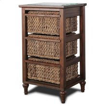 3-Basket Storage Cabinet