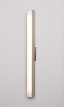 """LED AXIS 30"""" LINEAR SCONCE - BRUSHED NICKEL"""