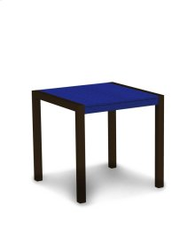 """Textured Bronze & Pacific Blue MOD 30"""" Dining Table"""
