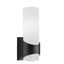 Celino Collection Celino 1 Light Outdoor Wall Light in Black