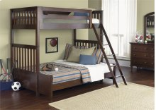 Twin Over Full BunkBed Set
