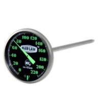 Instant Read Gauge With Glow In the Dark Dial