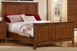 Appalachian Hardwood Collection  - Mansion Panel Bed