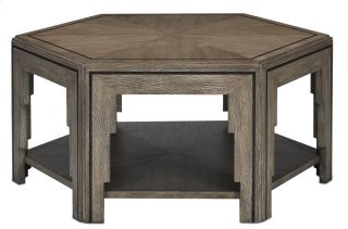 Losari Cocktail Table - 19h x 42.25w x 36.625d