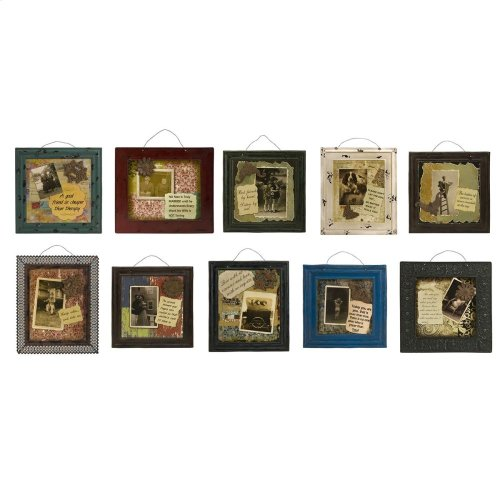 Luverne Wall Signs - Set of 10