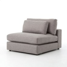 Bloor Sectional Armless-chess Pewter