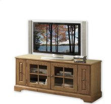 Visions 64-Inch TV Console Medium Distressed Oak finish