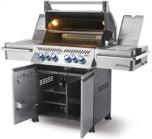 Prestige PRO 500 RSIB Stainless Steel with Infrared Rear and Side Burners