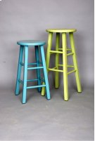 """#374 24"""" Round Top Stool 14""""wx14""""dx24""""h Product Image"""