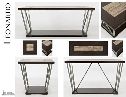 Leonardo Sofa Table