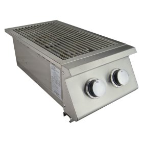 Premier Double Side Burner - RJCSSB - Propane Gas