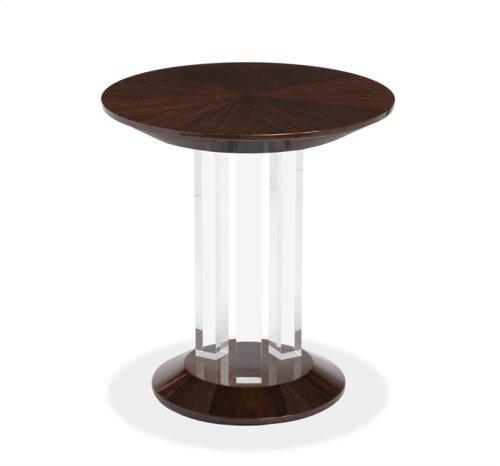 Karra Side Table - Figured Eucalyptus