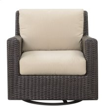 Emerald Home Metro II Swivel Glider Lounge Chair Sunbrella Spectrum Sand Ou1066-04-09