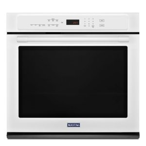 27-Inch Wide Single Wall Oven With True Convection - 4.3 Cu. Ft. - WHITE
