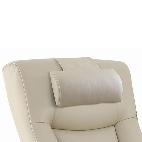 Hamar Cervical Pillow in Beige Breathable Air Leather