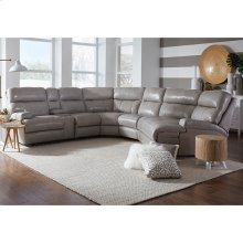 Left Arm Dual Power Console Loveseat w/Wand
