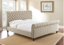 "Swanson Queen Sand Upholstered Headboard 67"" x53"" x10"""