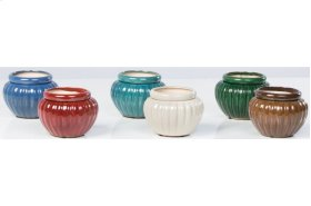 "6"" Round Self-Watering Pots Assortment - Set of 6"
