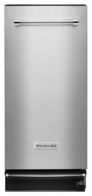 1.4 Cu. Ft. Built-In Trash Compactor - Stainless Steel