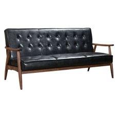 Rocky Sofa Black Product Image