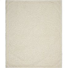 "Faux Fur Fl200 Ivory 50"" X 60"" Throw Blankets"