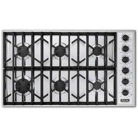 "White 36"" Gas Cooktop - VGSU (36"" wide cooktop)"