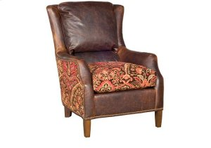 Writer Leather/Fabric Chair