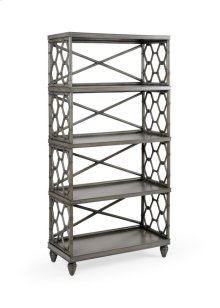 Beehive Bookcase - Gray