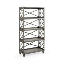 Beehive Bookcase - Gray