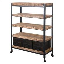 3 Drw Bookcase