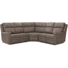 Comfort Design Living Room Churchill Sectional CLP259-8PB SECT