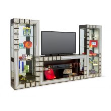 18493 ARIES - BUNCHING TV CONSOLE & 18593 PIER CABINET