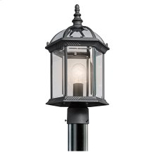 Barrie Collection Outdoor Post Mt 1Lt BK