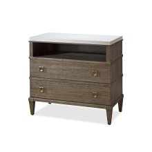 Two Drawer Nightstand