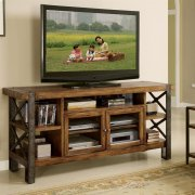 Sierra - 68-inch TV Console - Landmark Worn Oak Finish Product Image