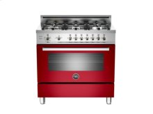 """Red 36"""" Professional Series 6-Burner, All Gas Range- OUT OF CARTON"""