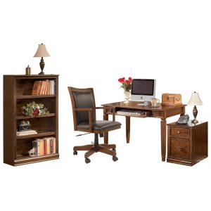 AshleyASHLEYHome Office Desk With Chair and Storage