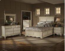 Wilshire 4pc King Panel Storage Bedroom Suite