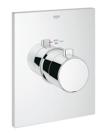 Grohtherm F Thermostatic Trim with Temperature Control Module