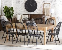 Taper Turned Dining Table with Squires Chairs