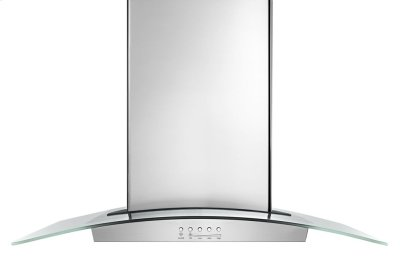 "30"" Modern Glass Wall Mount Range Hood Product Image"