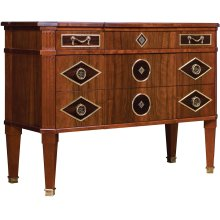 Wood Top Front Insets Russian Chest