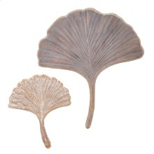 TY Luxe Ginkgo Wall Decor - Set of 2