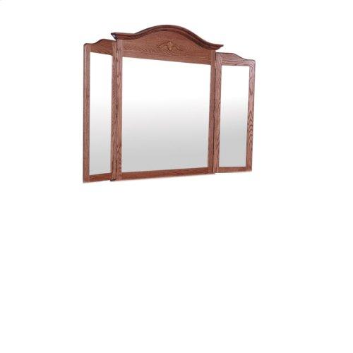 Arch Top Tri-View Mirror, Medium